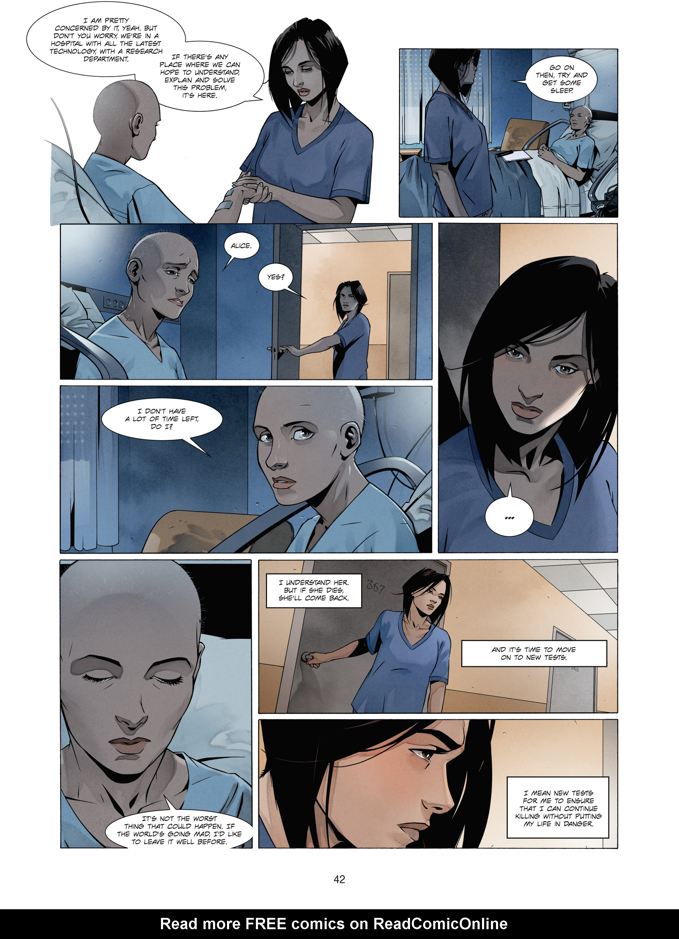 Read online Alice Matheson comic -  Issue #1 - 41