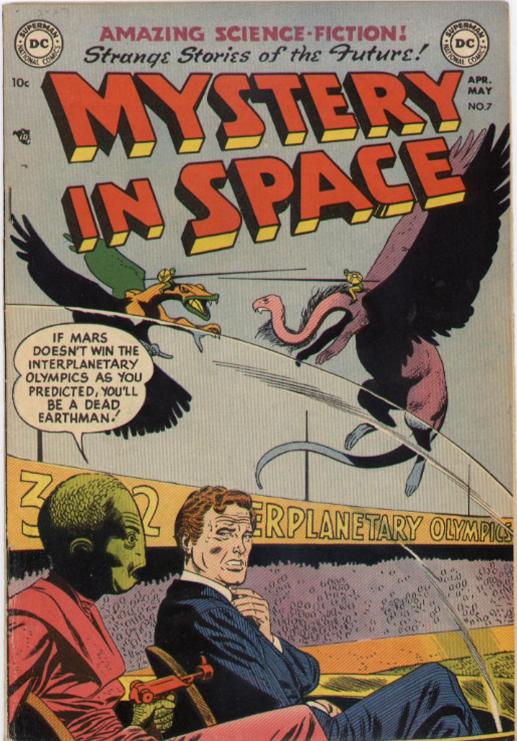 Mystery in Space (1951) issue 7 - Page 1