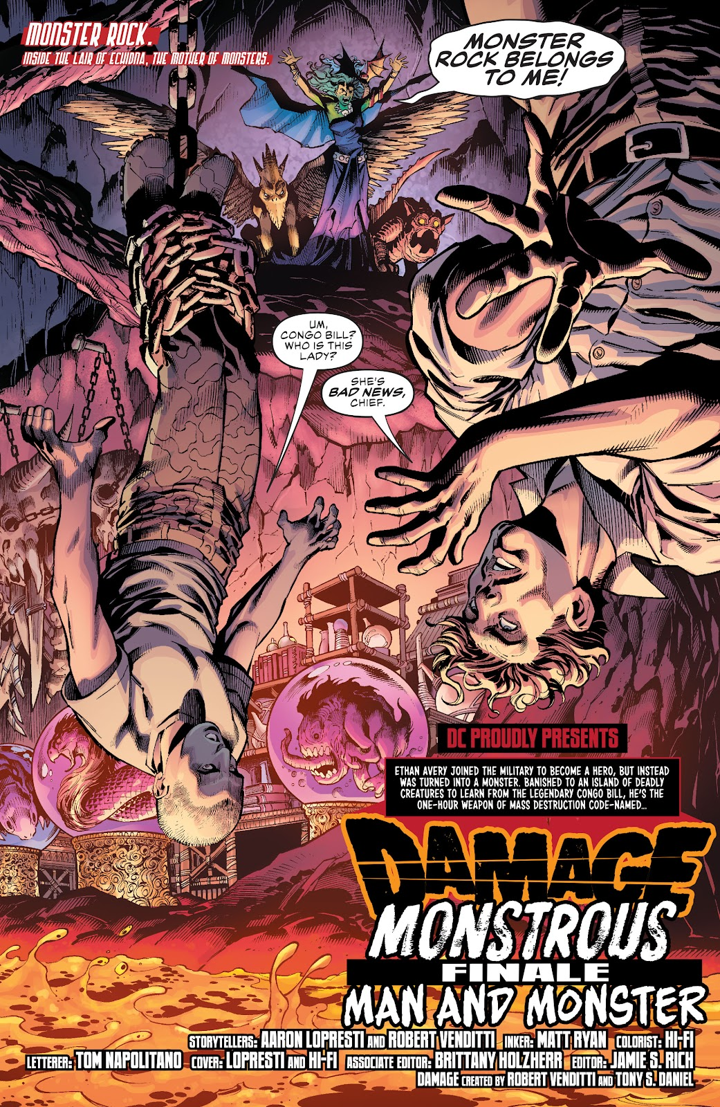 Read online Damage (2018) comic -  Issue #16 - 3