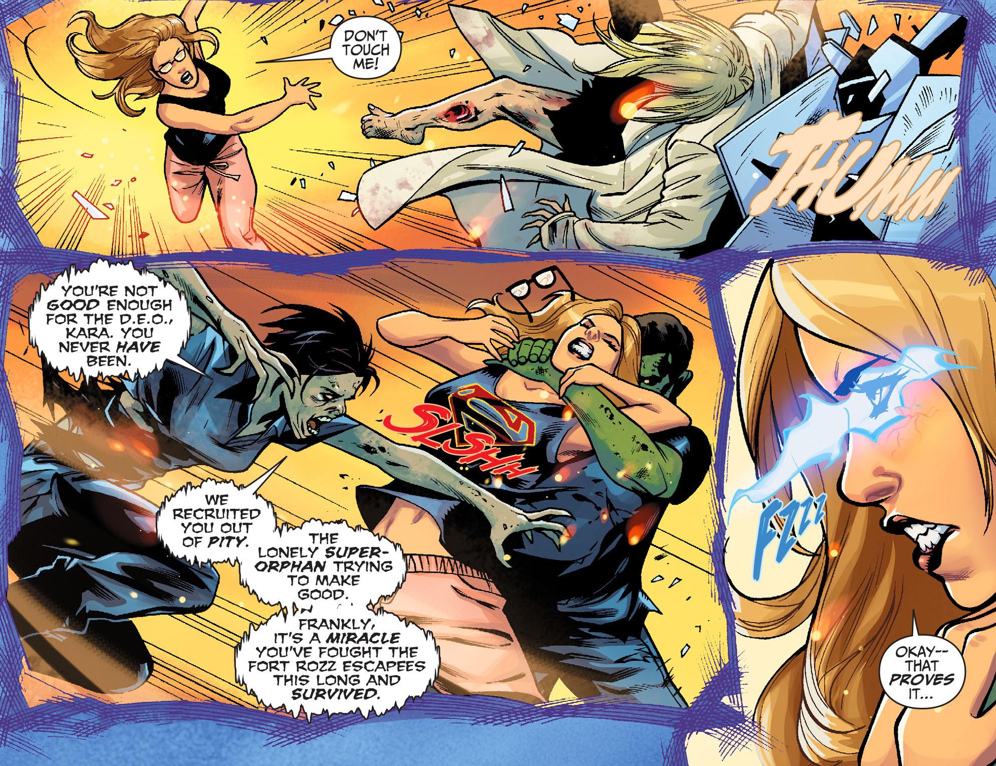 Read online Adventures of Supergirl comic -  Issue #6 - 16