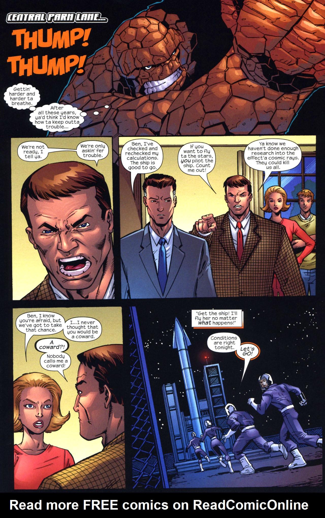 Read online Fantastic Five (2007) comic -  Issue #2 - 12