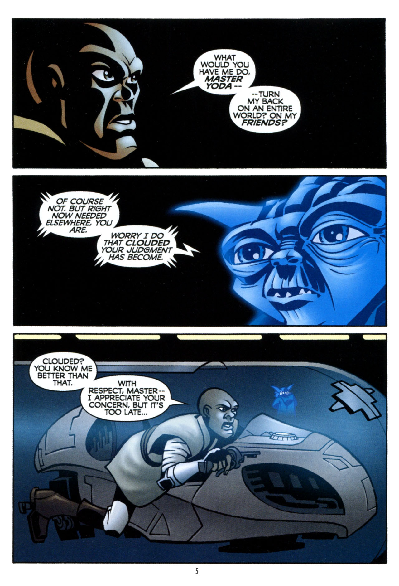Read online Star Wars: The Clone Wars - The Colossus of Destiny comic -  Issue # Full - 6