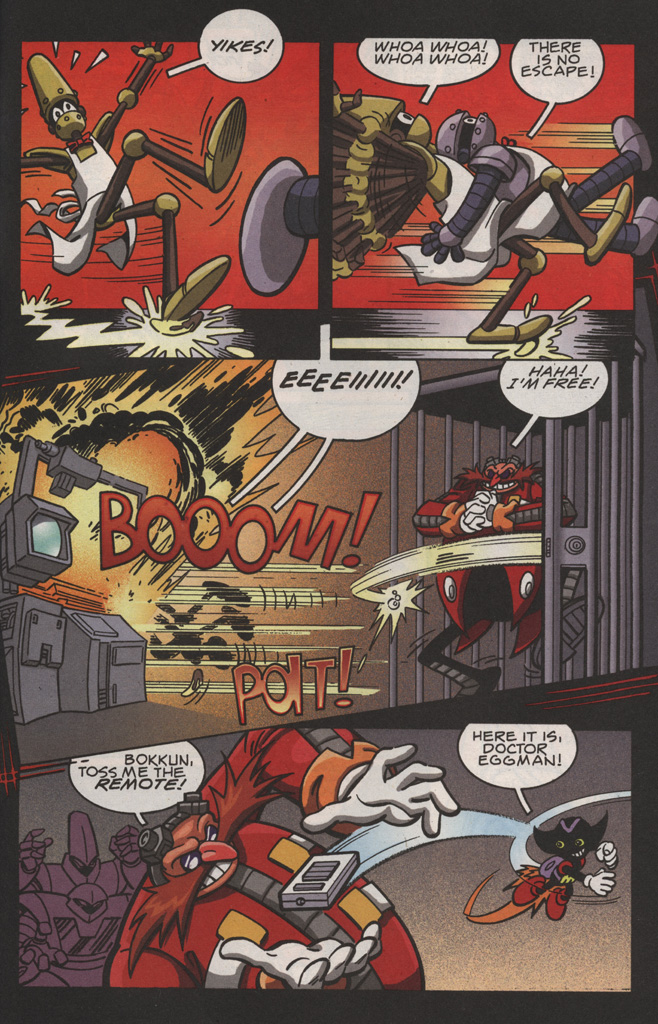 Read online Sonic X comic -  Issue #22 - 29