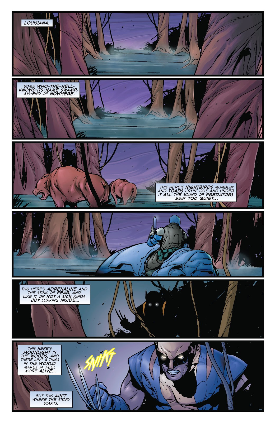 Wolverine: Dangerous Games issue Full - Page 2