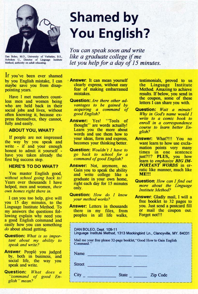 Read online 1963 comic -  Issue #1 - 30