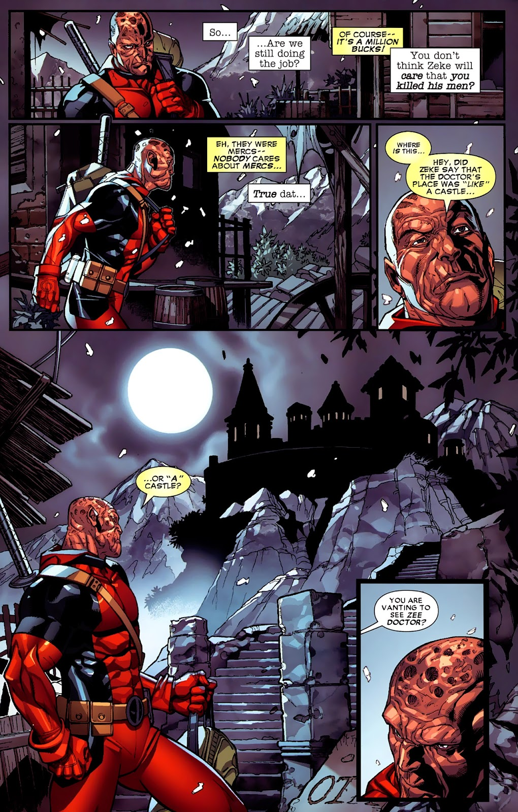 Read online Deadpool (2008) comic -  Issue #4 - 20