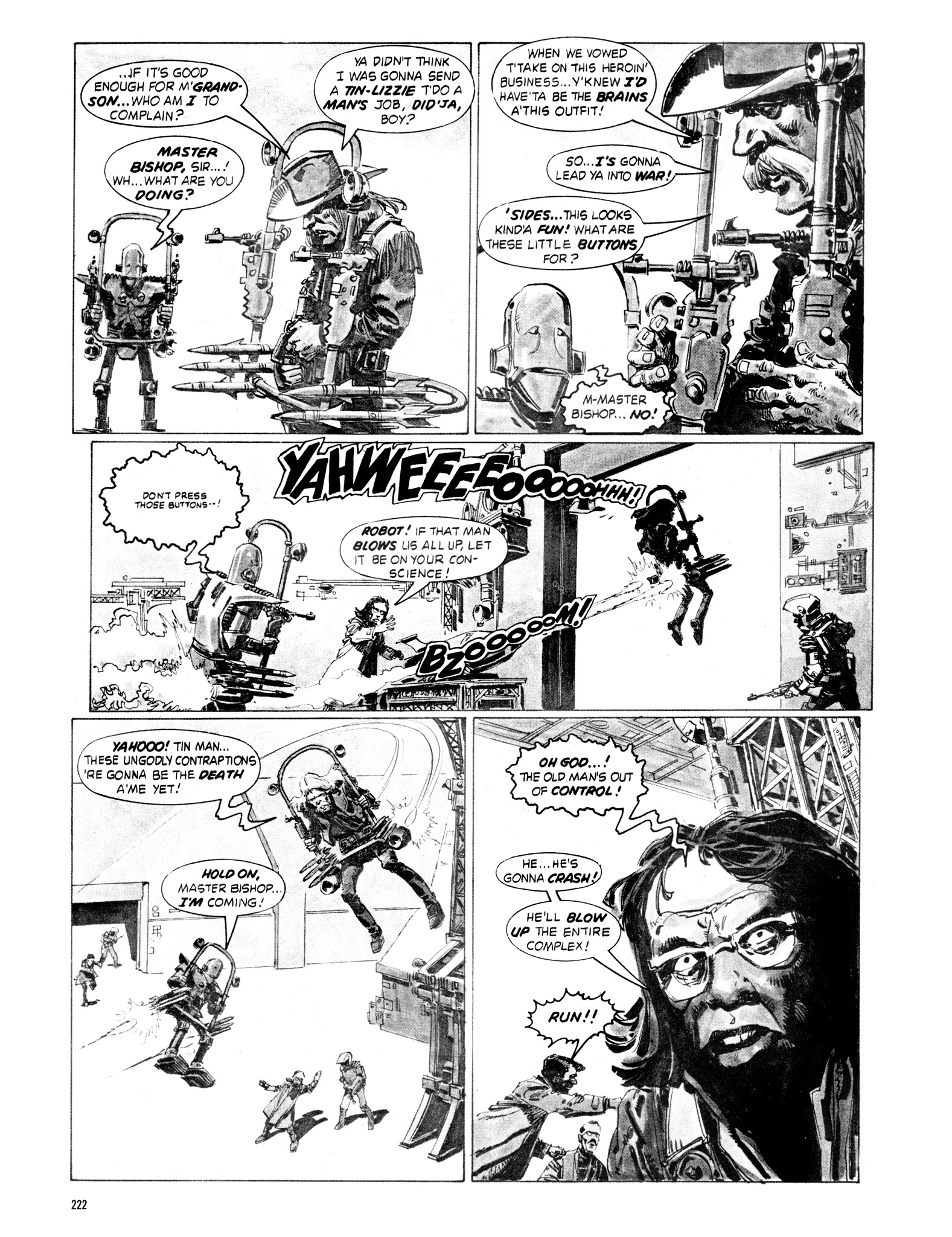 Read online Eerie Archives comic -  Issue # TPB 18 - 219
