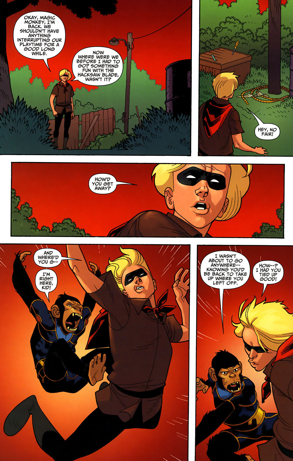 Read online Shadowpact comic -  Issue #3 - 9
