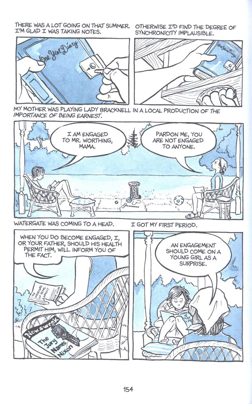 Read online Fun Home: A Family Tragicomic comic -  Issue # TPB - 160