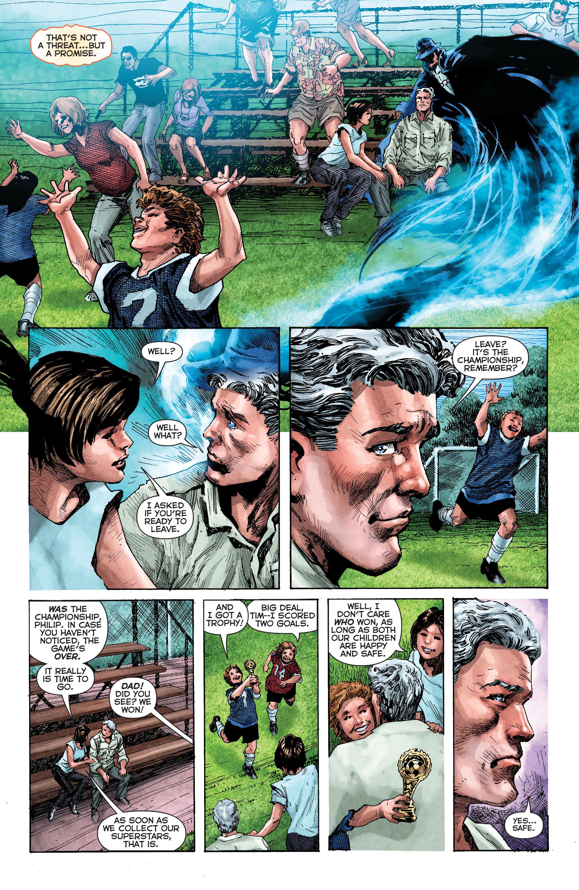 Read online Trinity of Sin: The Phantom Stranger comic -  Issue #2 - 7