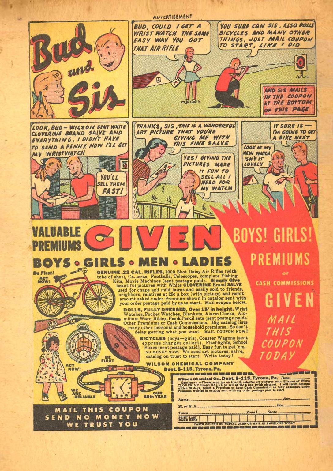Read online Adventure Comics (1938) comic -  Issue #148 - 49