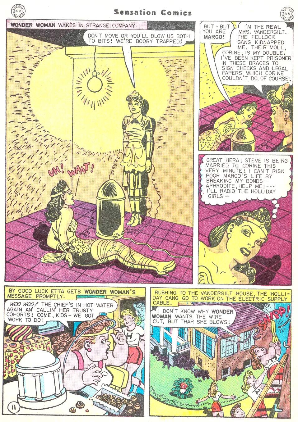 Read online Sensation (Mystery) Comics comic -  Issue #50 - 13