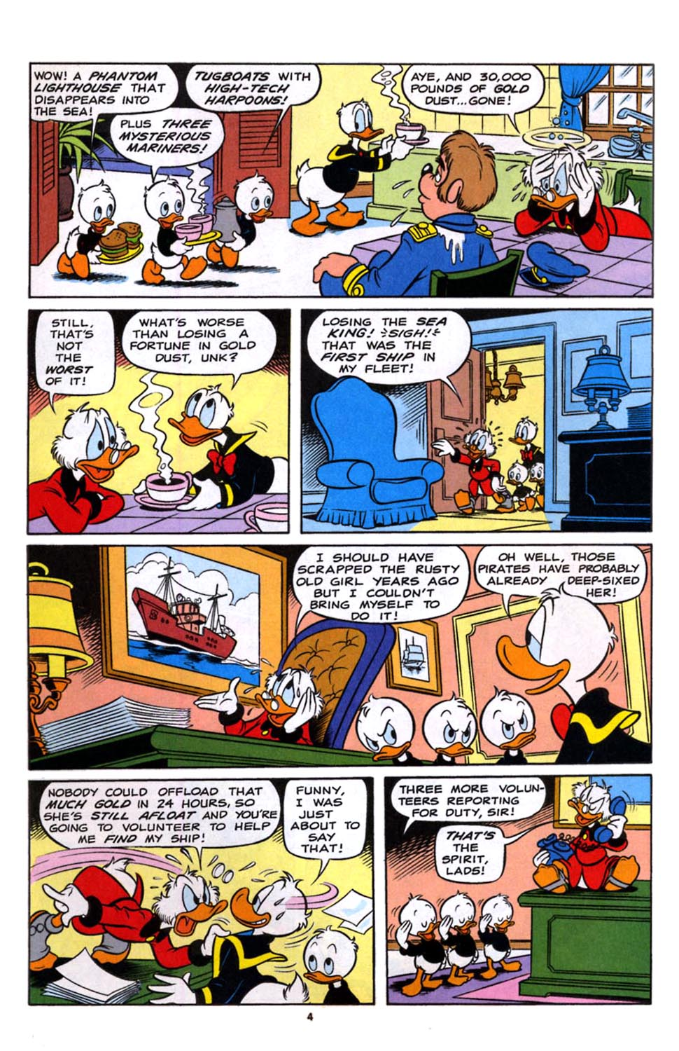 Read online Uncle Scrooge (1953) comic -  Issue #245 - 5
