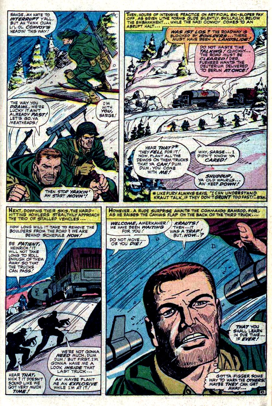 Read online Sgt. Fury comic -  Issue #32 - 15