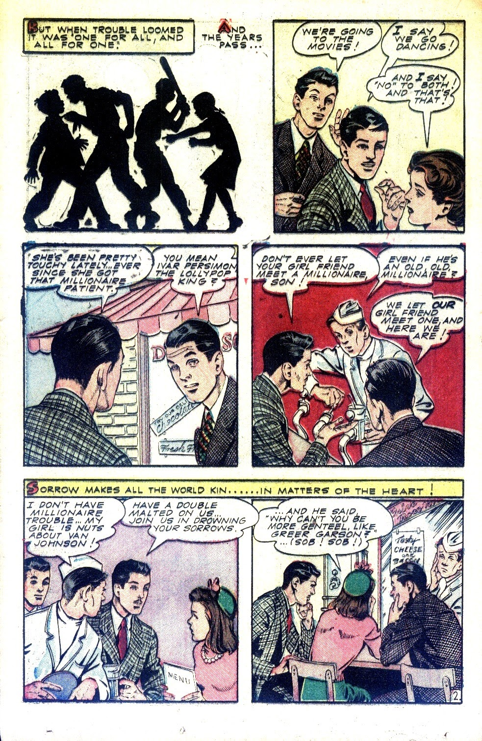 Read online Nellie The Nurse (1945) comic -  Issue #2 - 28
