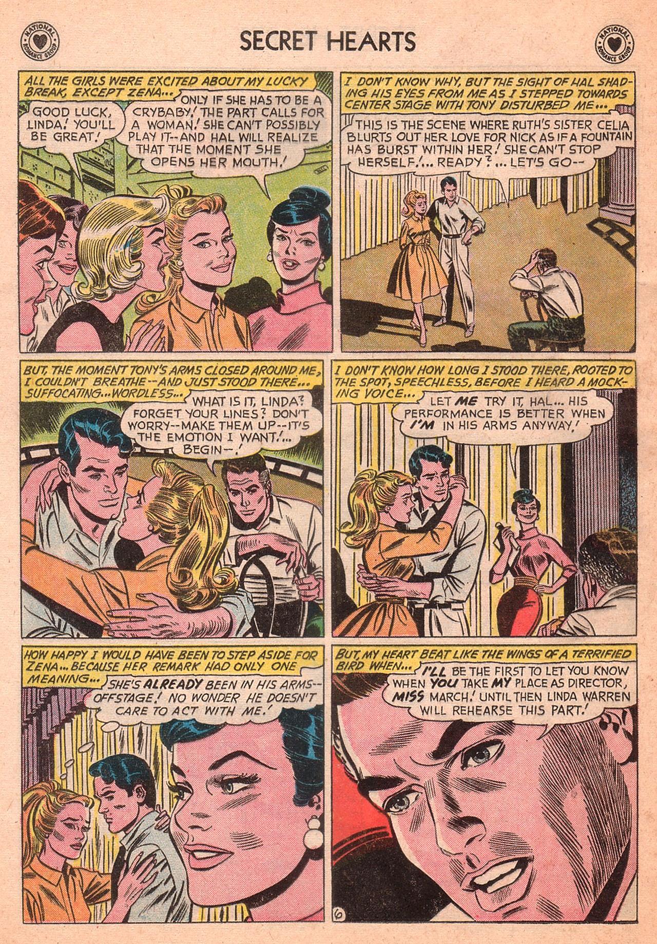 Read online Secret Hearts comic -  Issue #77 - 32
