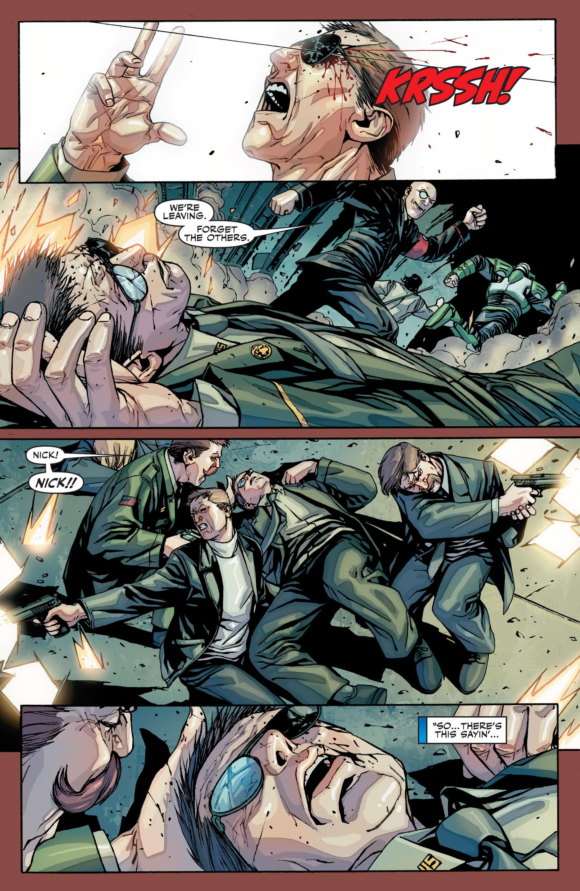 Read online Secret Warriors comic -  Issue #25 - 26