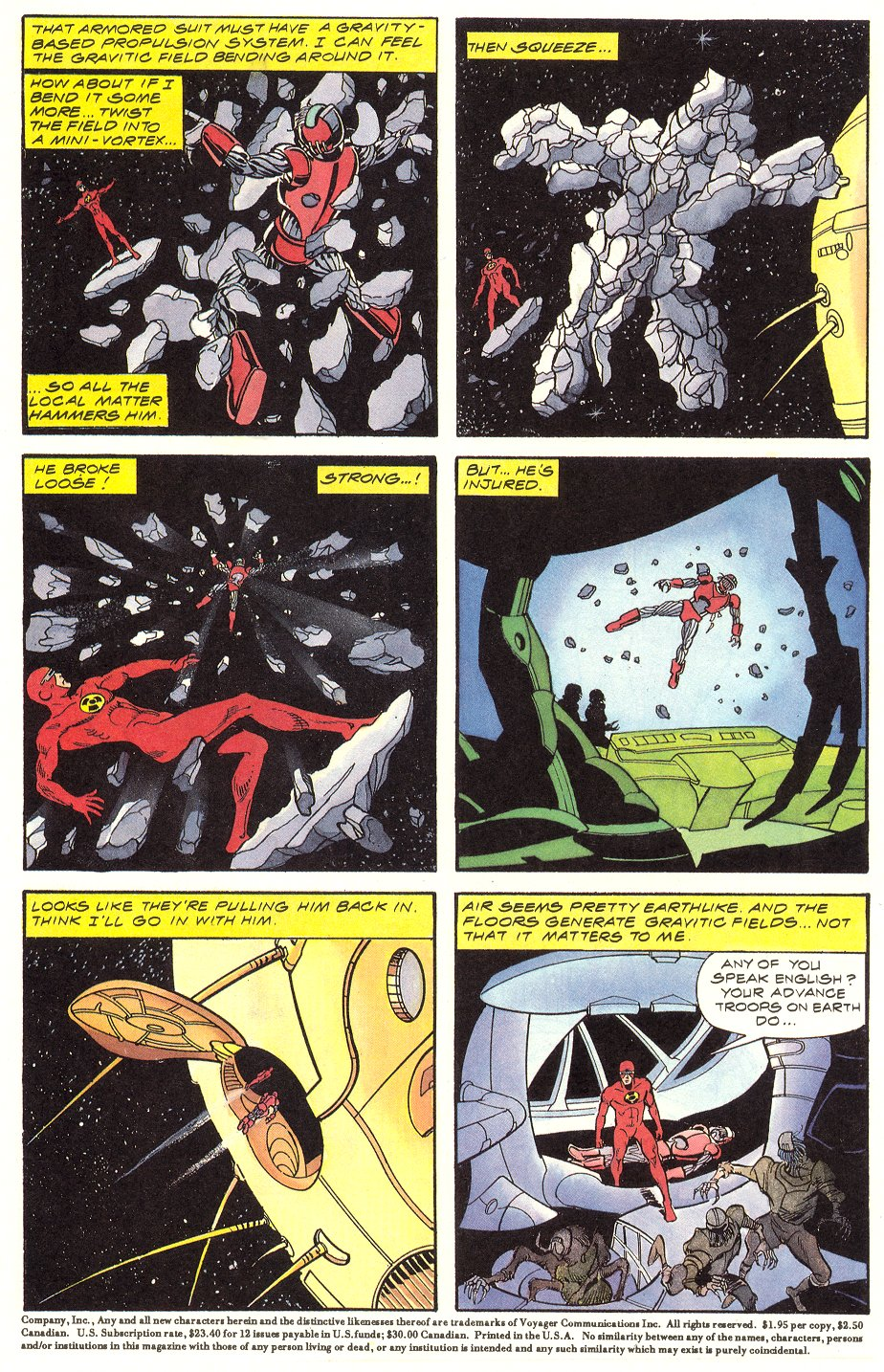 Read online Solar, Man of the Atom comic -  Issue #6 - 4