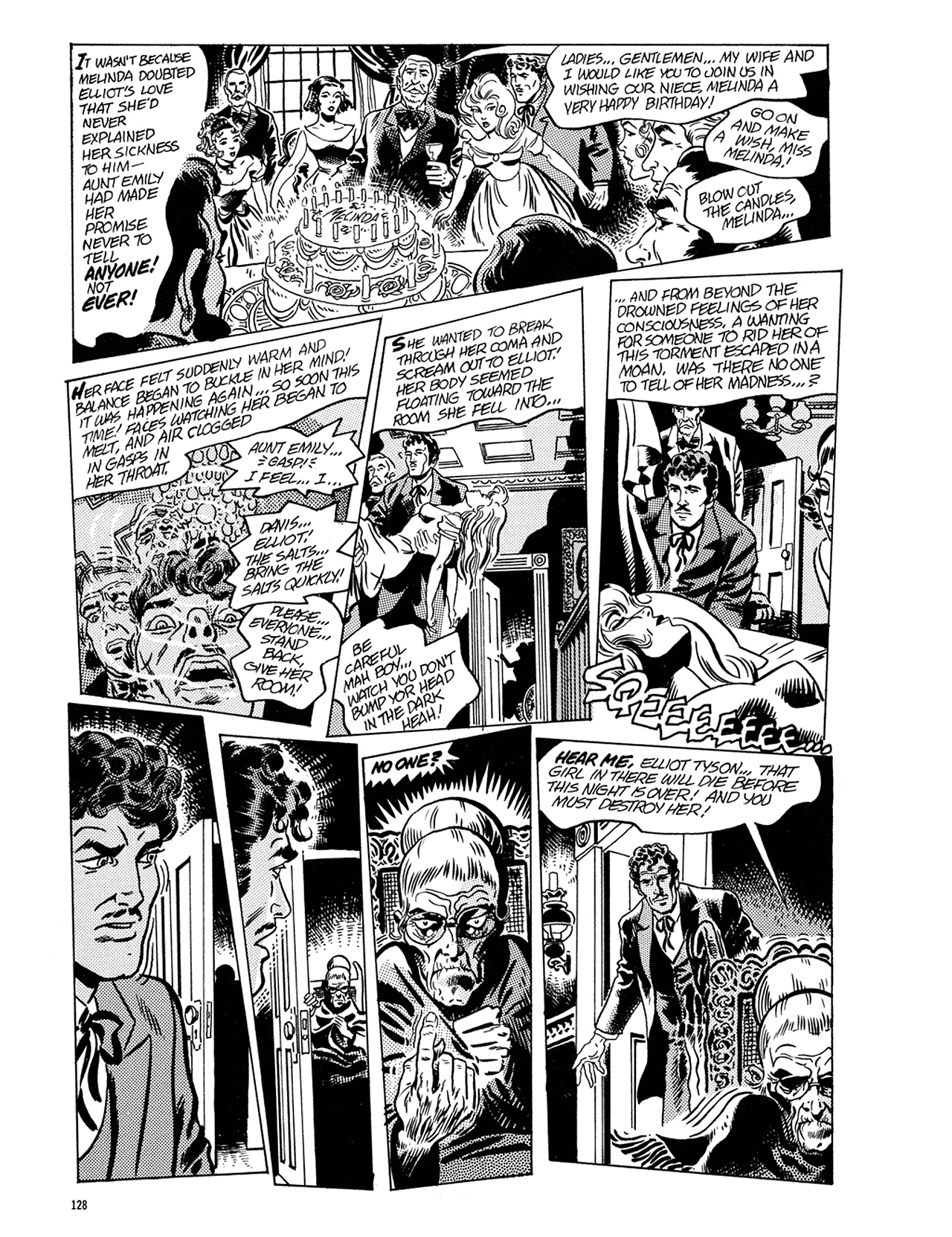 Read online Eerie Archives comic -  Issue # TPB 5 - 129
