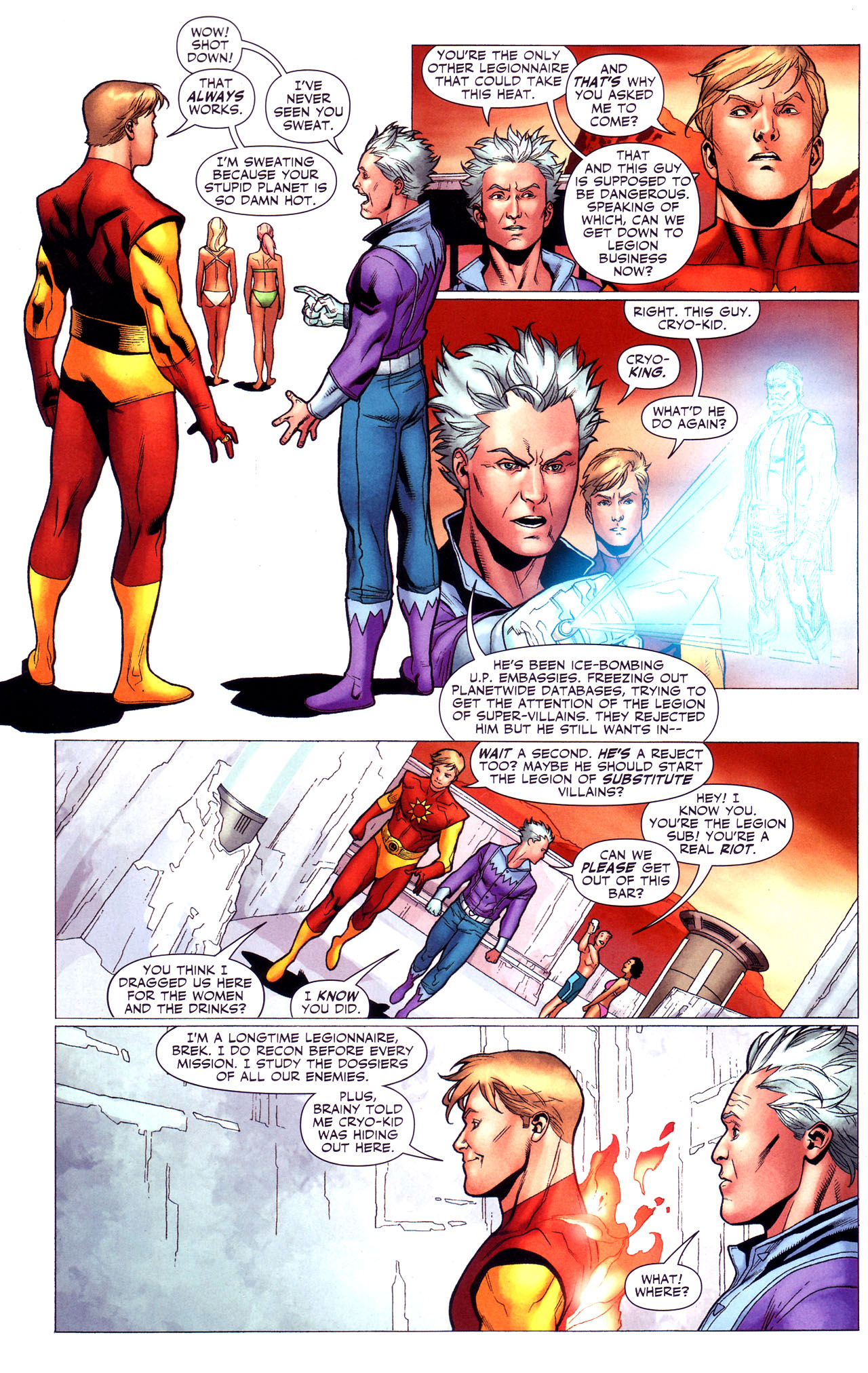 Read online Adventure Comics (2009) comic -  Issue #3 - 24