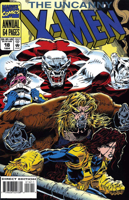 X-Men Annual 18 Page 1