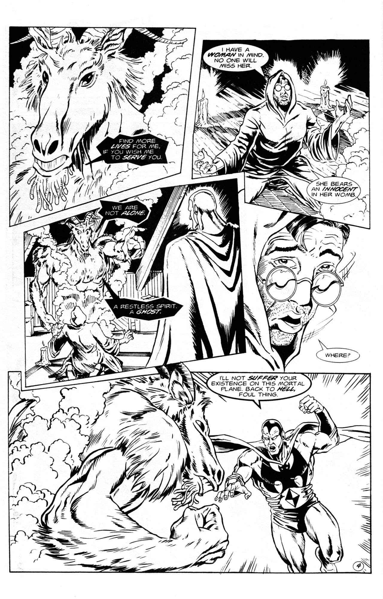 Read online Dr. Weird (1994) comic -  Issue #1 - 6