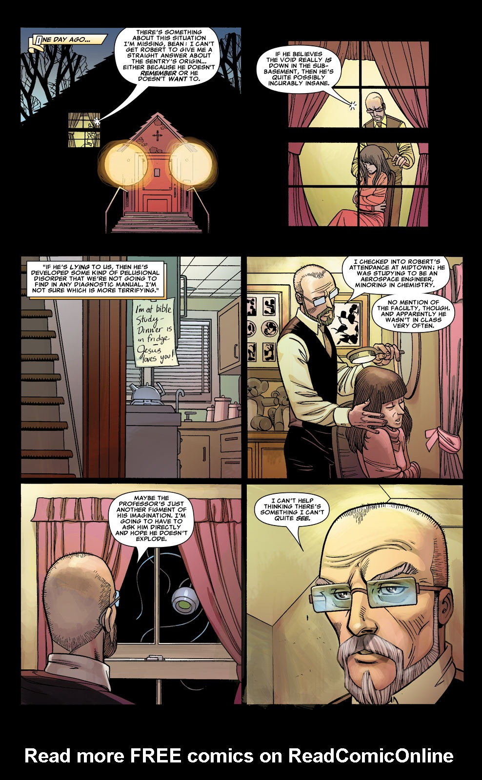 Read online Sentry (2006) comic -  Issue #5 - 15