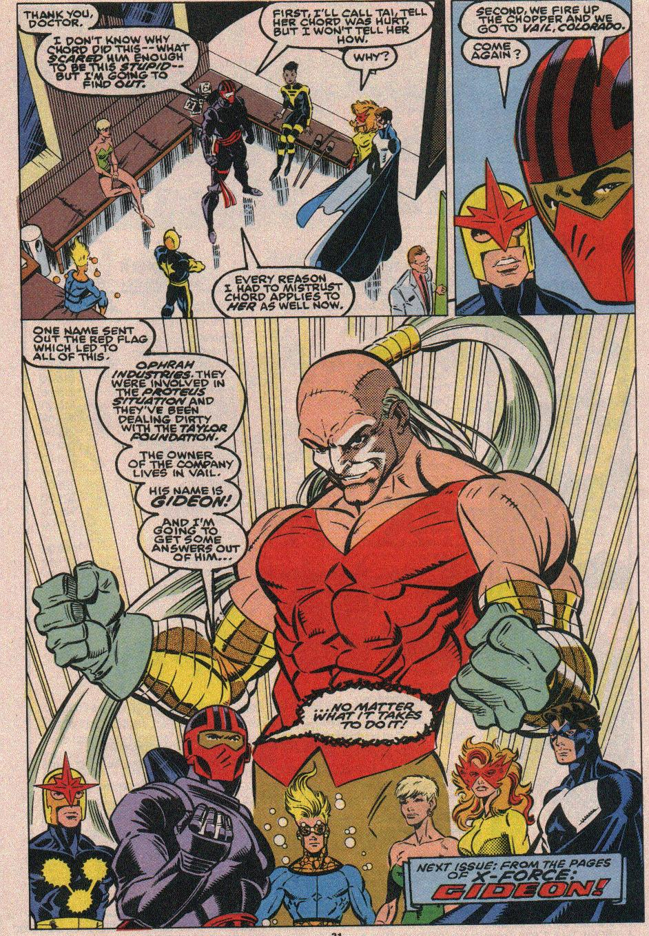 The New Warriors Issue #18 #22 - English 24