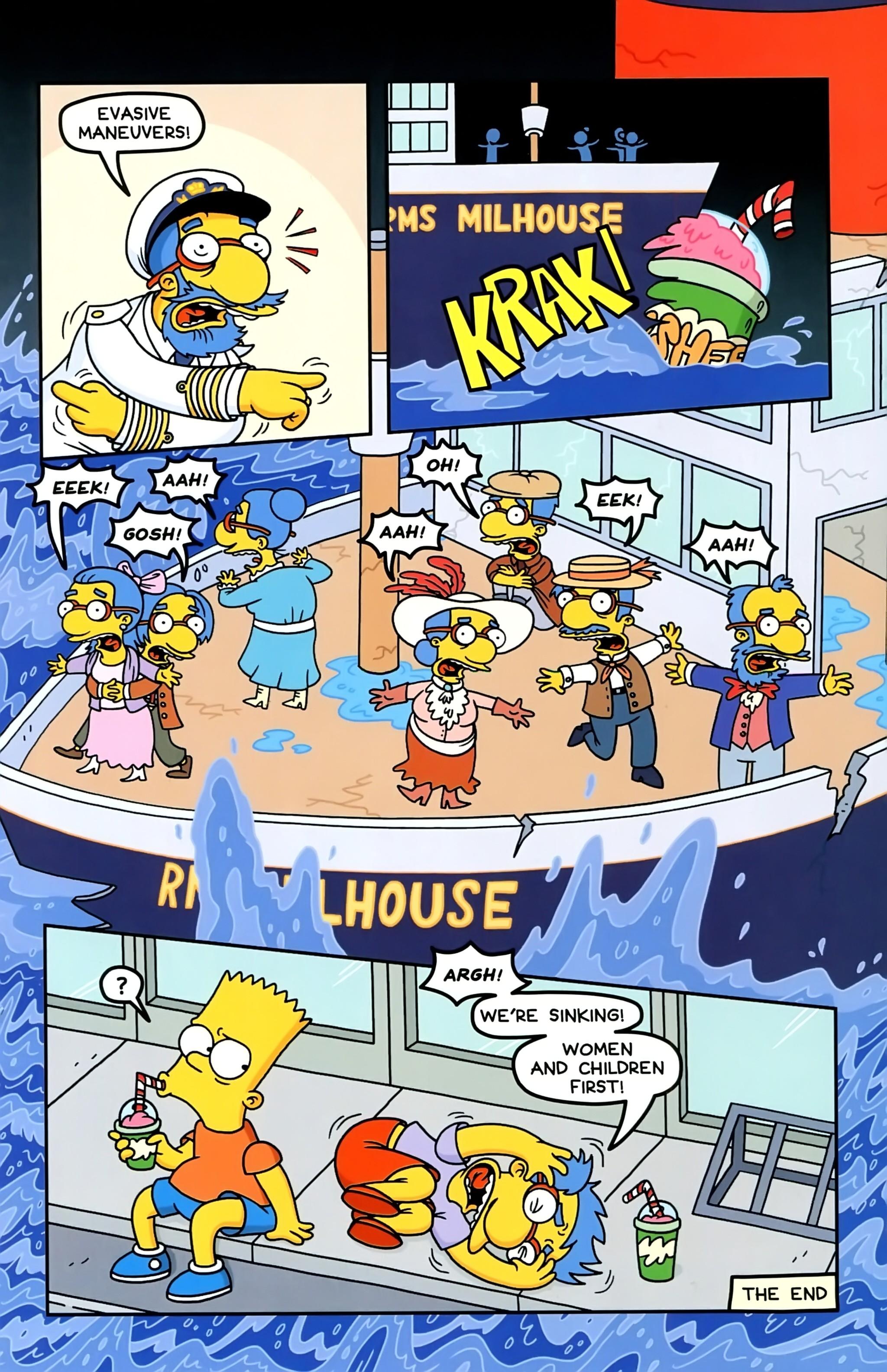 Read online Simpsons Comics comic -  Issue #234 - 17