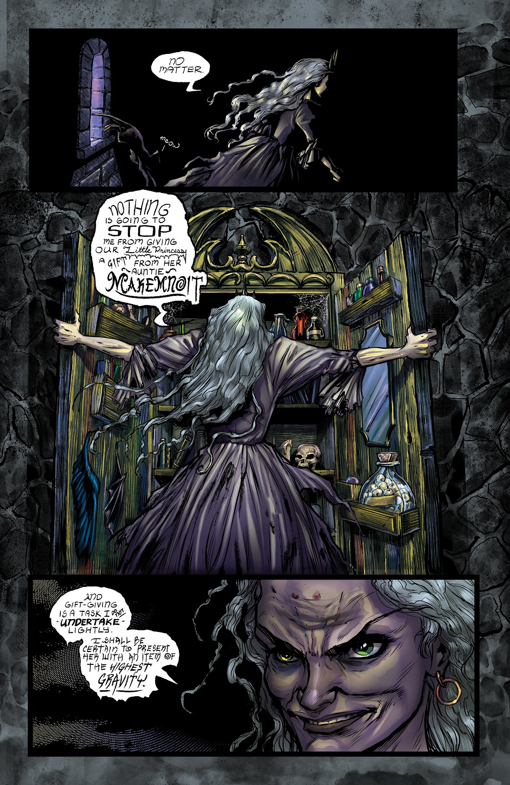 Read online George MacDonald's The Light Princess comic -  Issue #1 - 19