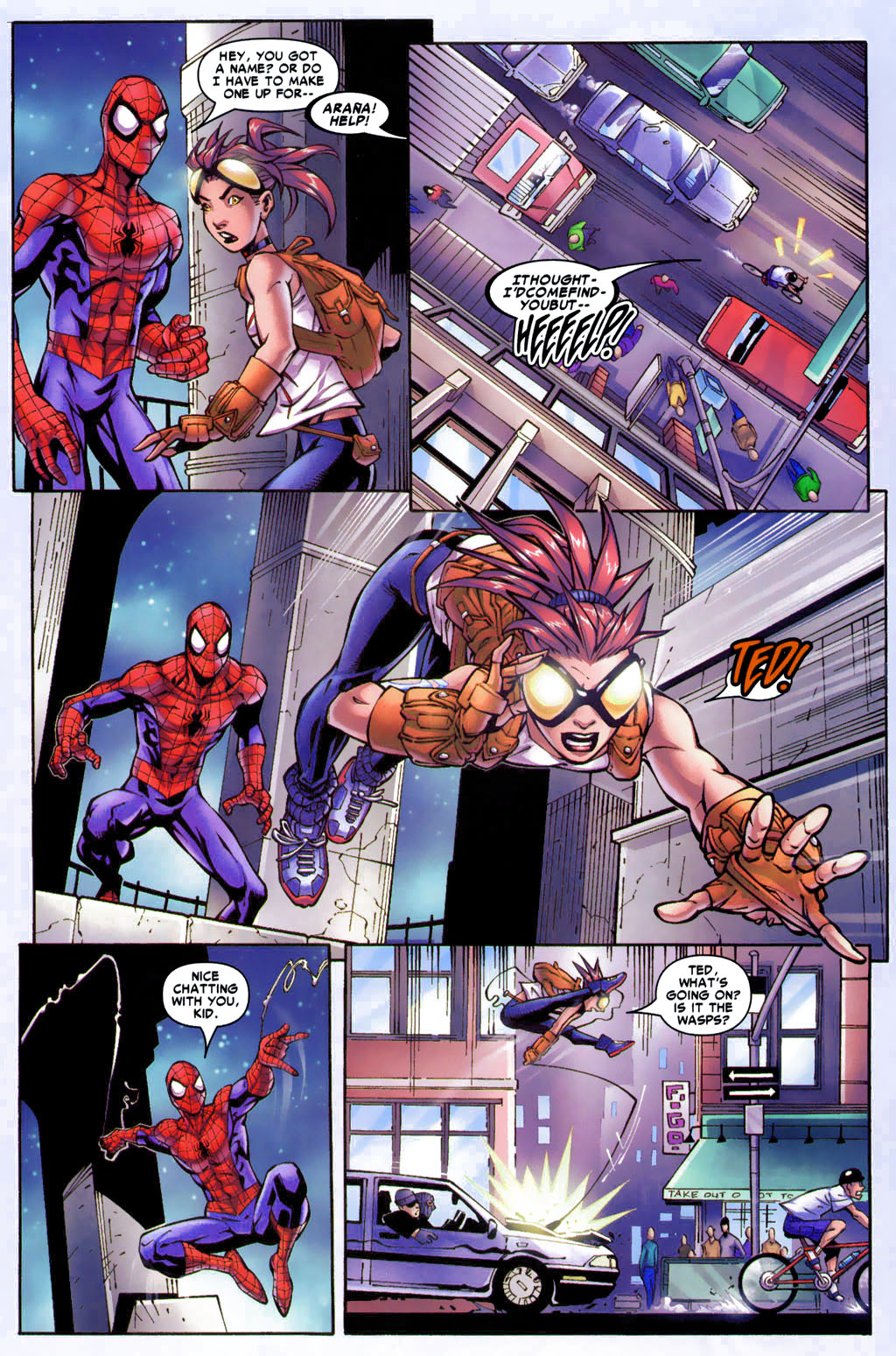 Read online Araña: Heart of the Spider comic -  Issue #4 - 12