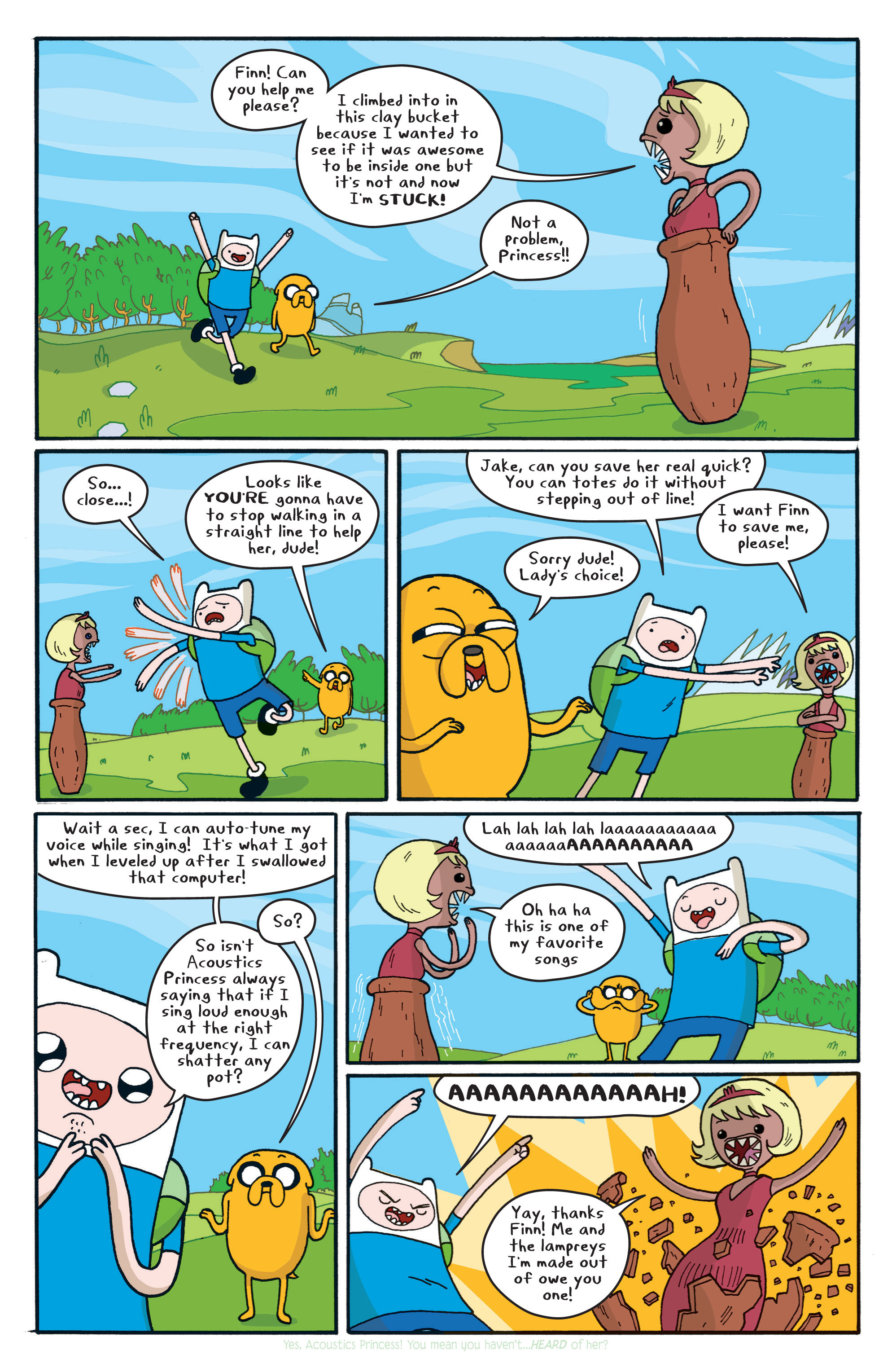 Read online Adventure Time comic -  Issue #5 - 12