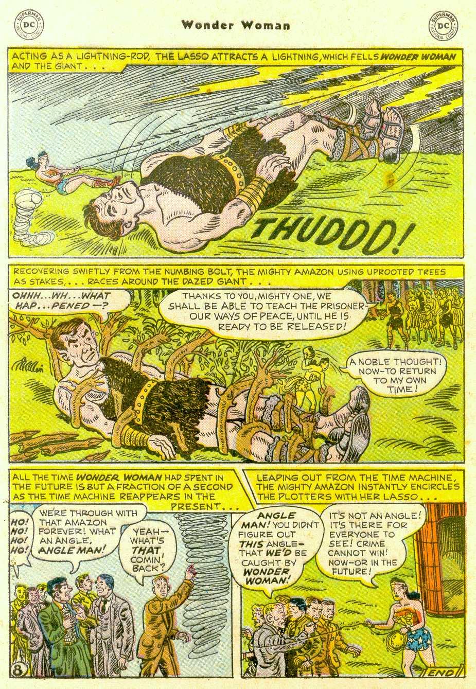 Read online Wonder Woman (1942) comic -  Issue #96 - 33