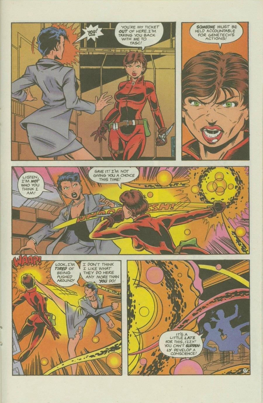 Read online Ex-Mutants comic -  Issue #8 - 22