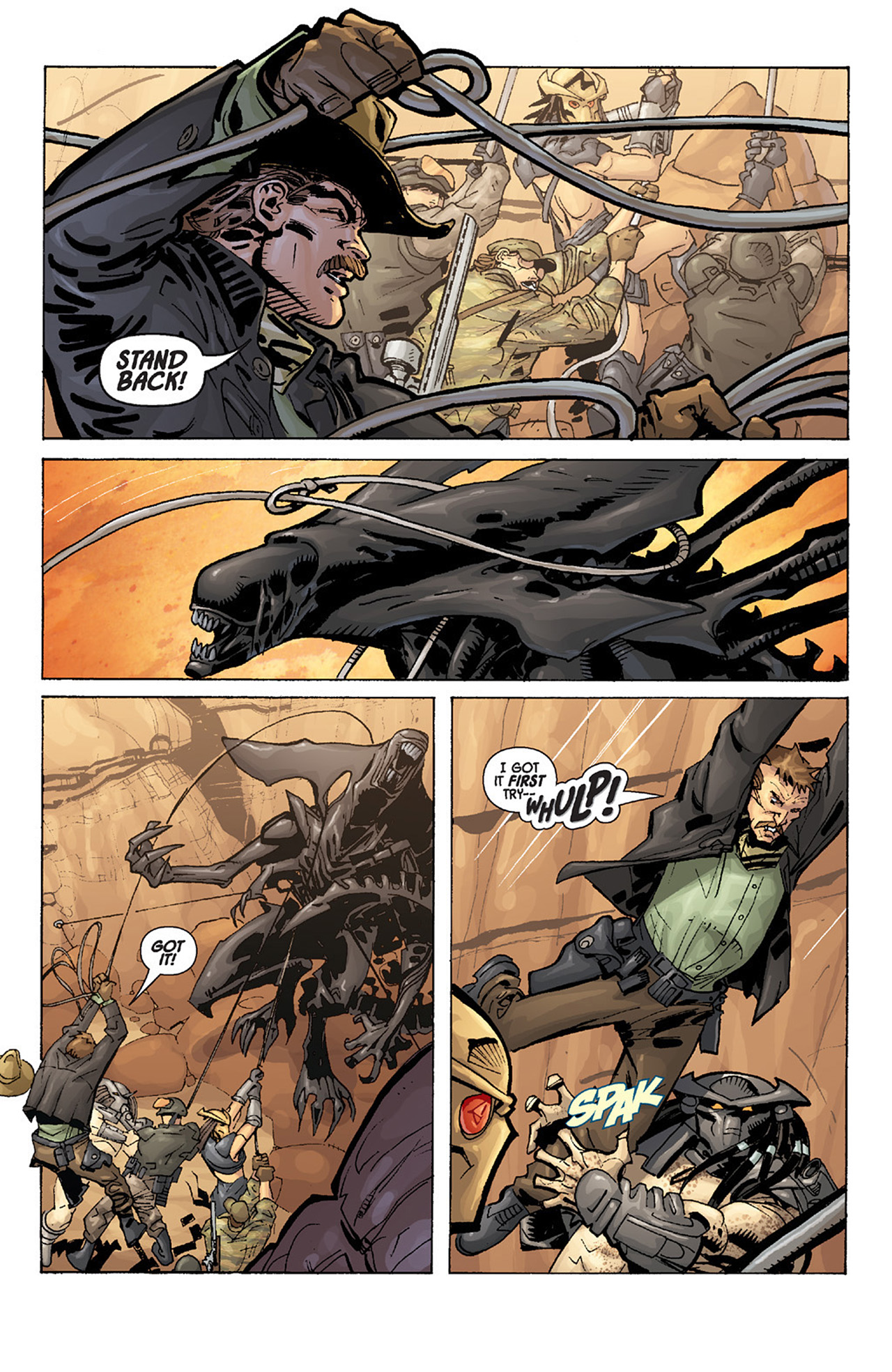 Read online Aliens vs. Predator: Three World War comic -  Issue #3 - 20