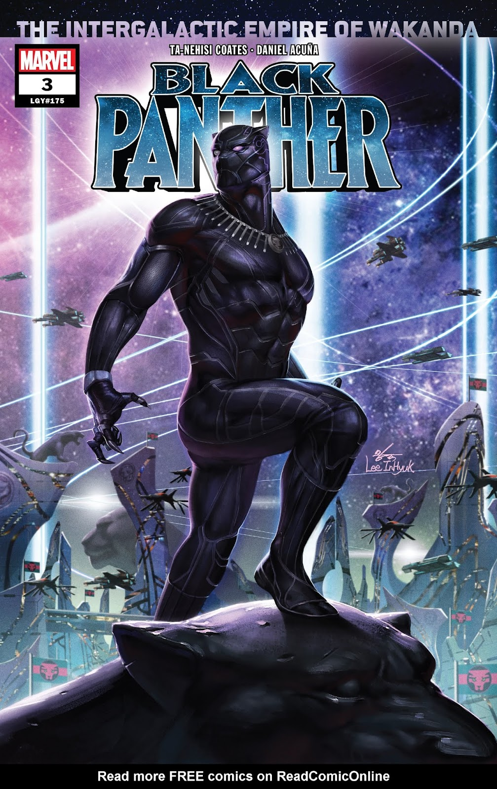 Black Panther (2018) issue 3 - Page 1