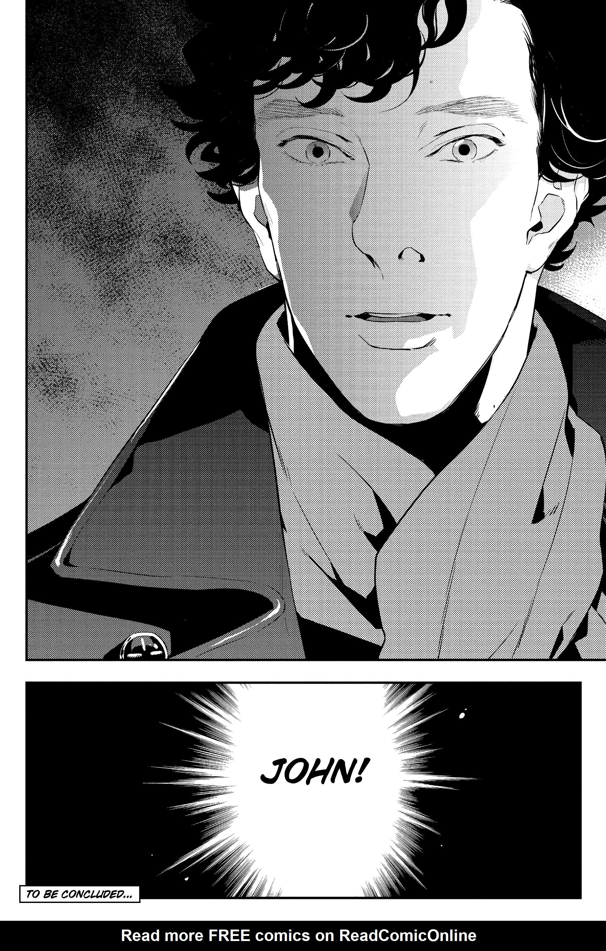 Read online Sherlock: The Blind Banker comic -  Issue #5 - 39
