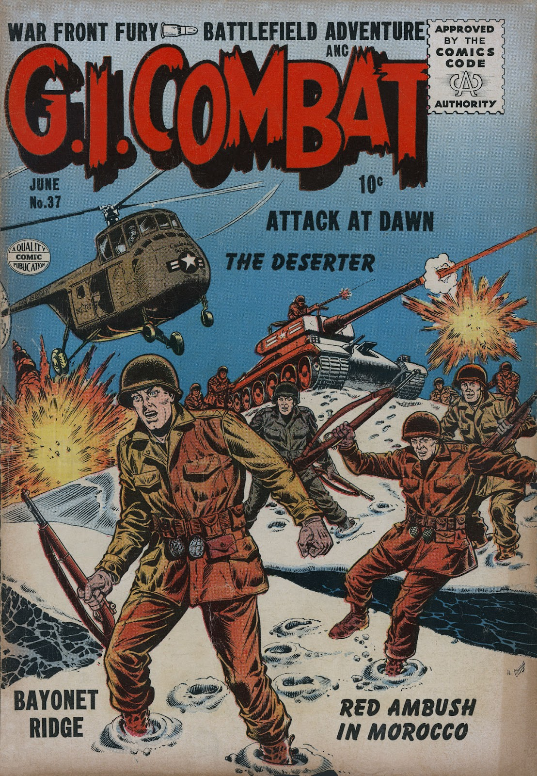 G.I. Combat (1952) issue 37 - Page 1