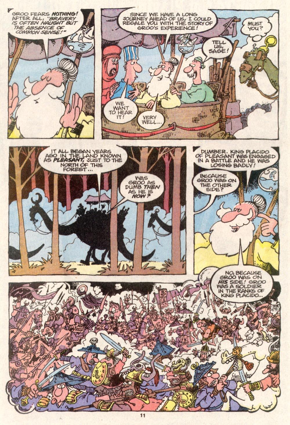 Read online Sergio Aragonés Groo the Wanderer comic -  Issue #80 - 8