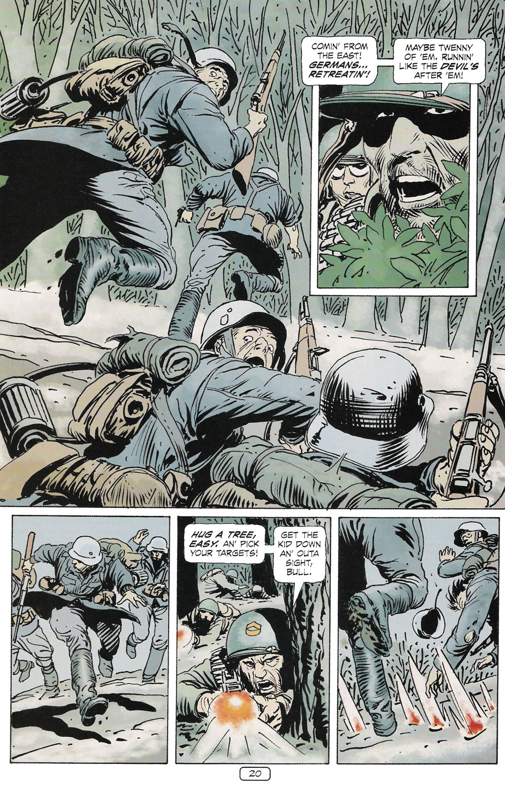 Read online Sgt. Rock: The Prophecy comic -  Issue #2 - 21