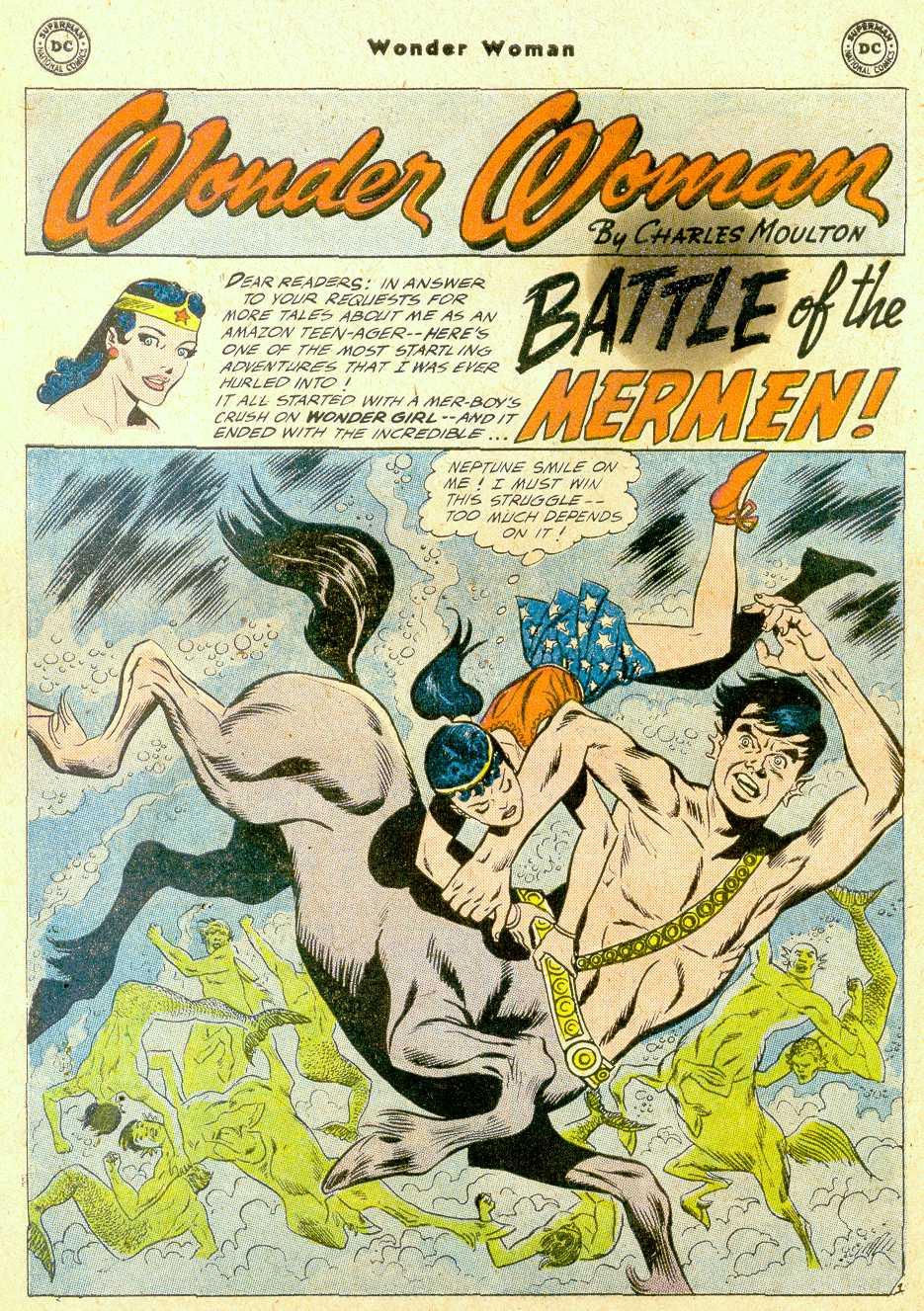 Read online Wonder Woman (1942) comic -  Issue #111 - 22