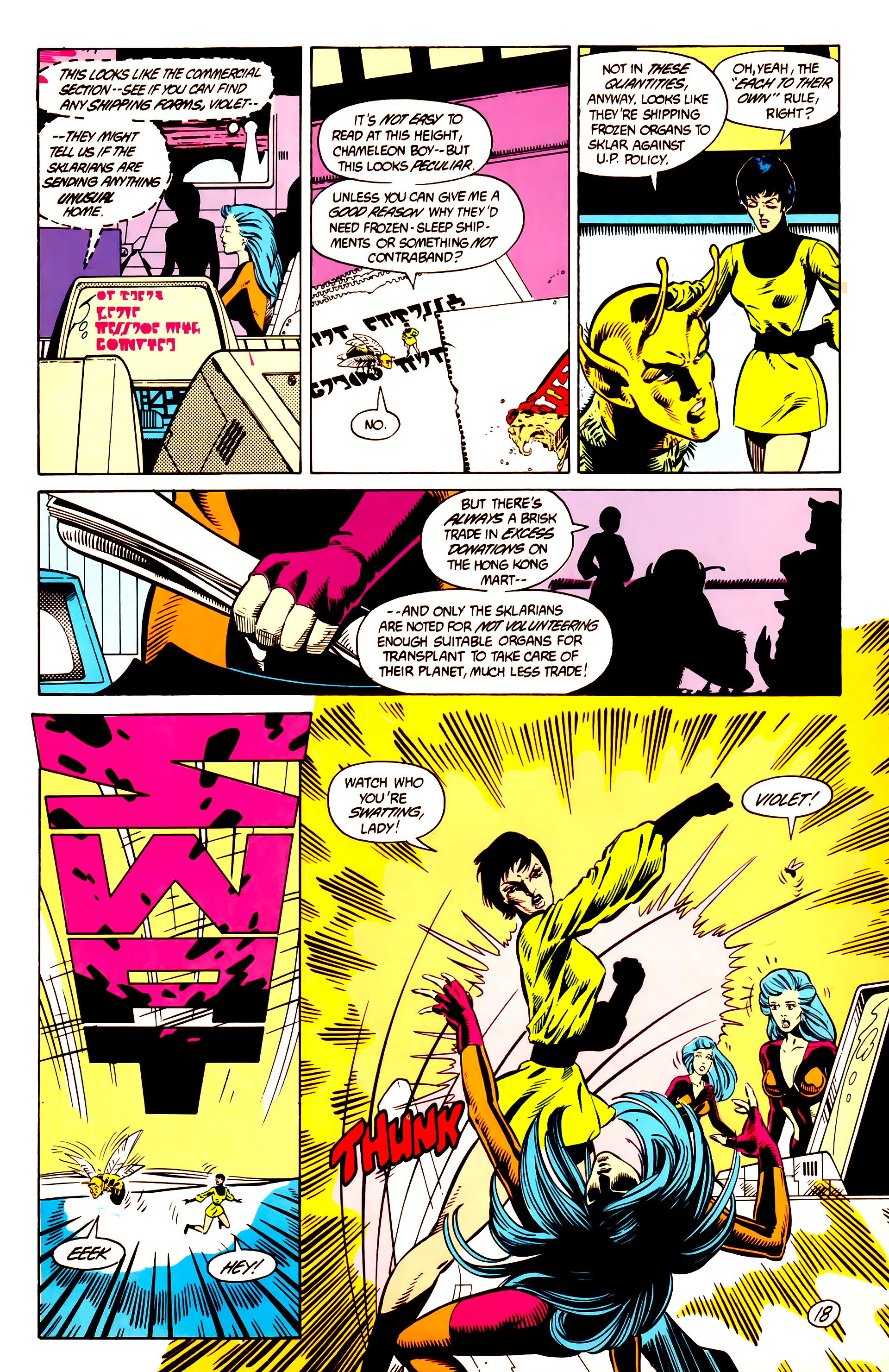 Legion of Super-Heroes (1984) 9 Page 19