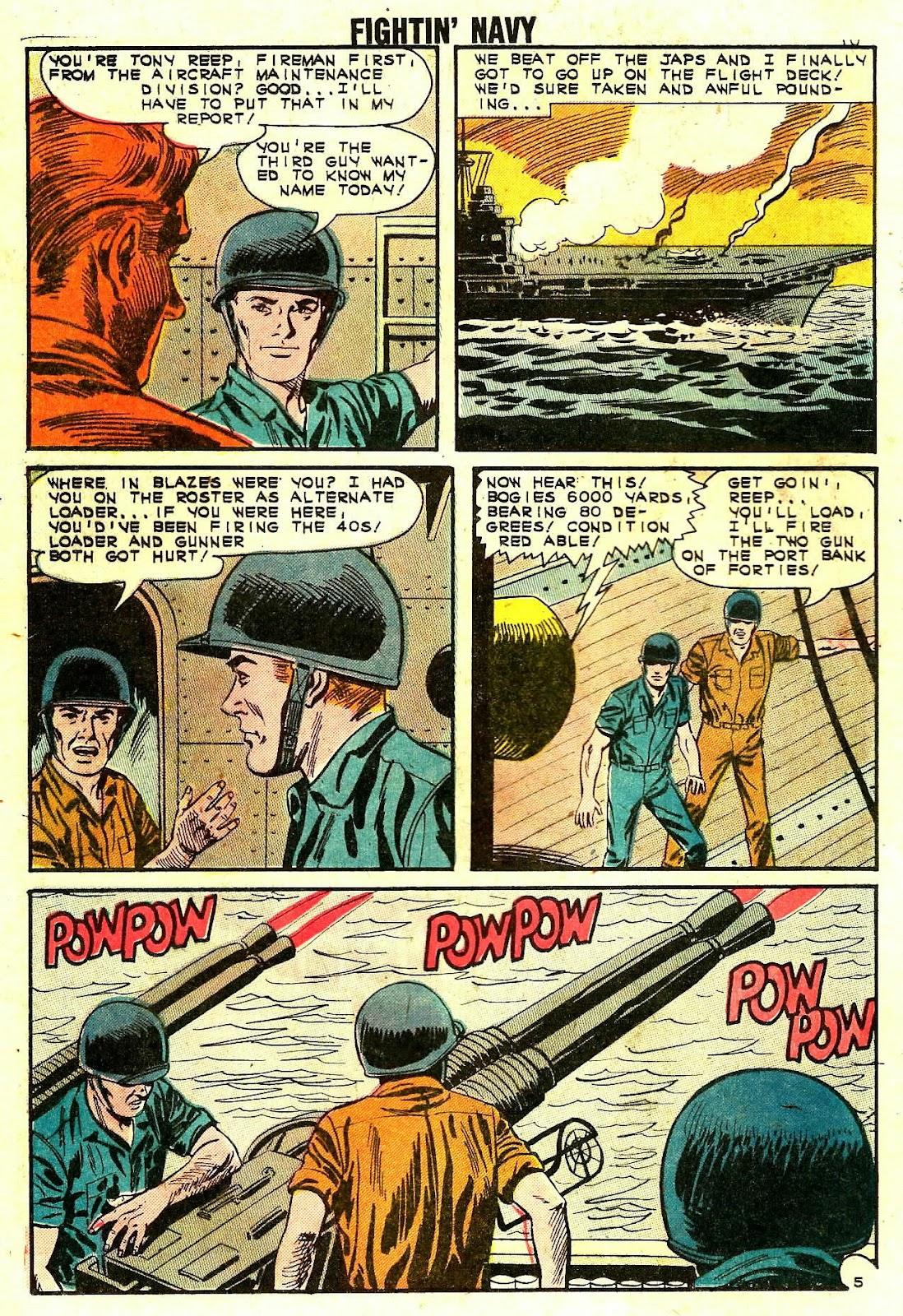 Read online Fightin' Navy comic -  Issue #109 - 12