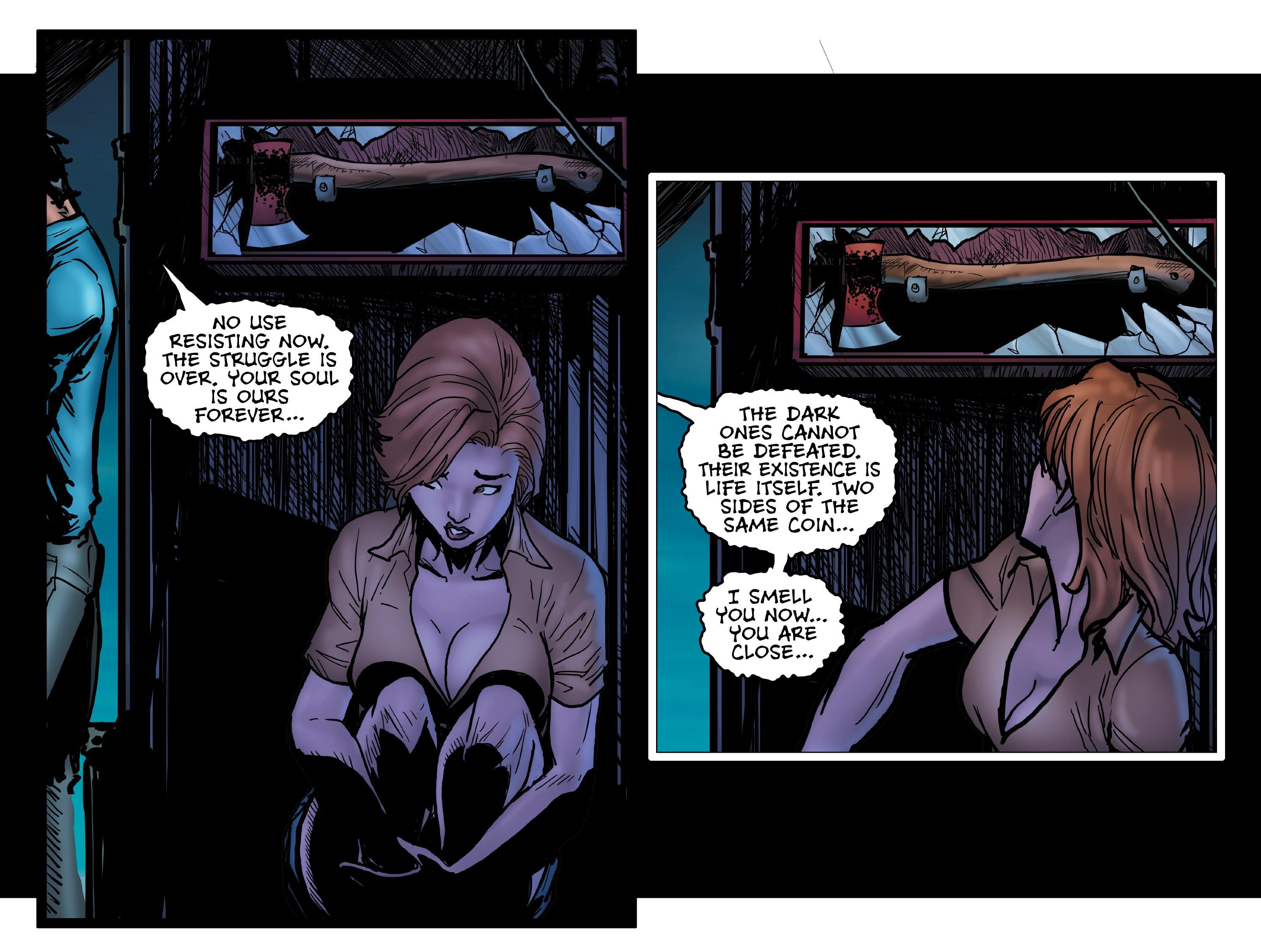 Read online Evil Dead 2: Dark Ones Rising comic -  Issue #5 - 17