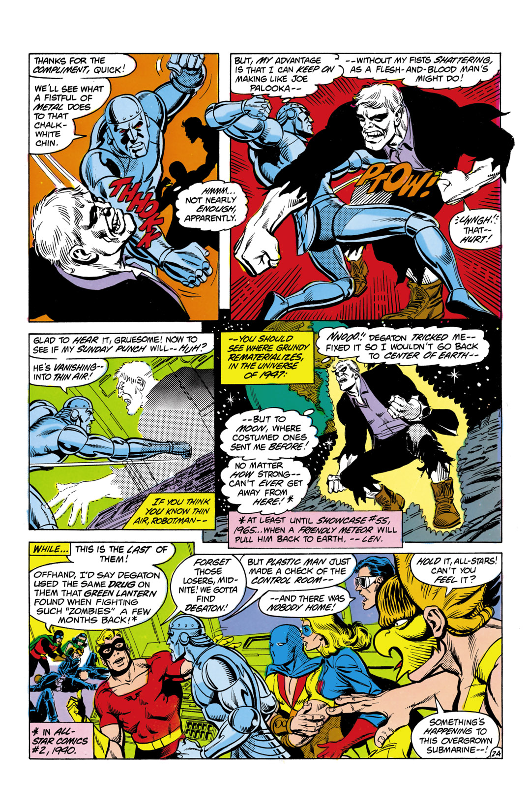 Read online All-Star Squadron comic -  Issue #3 - 25