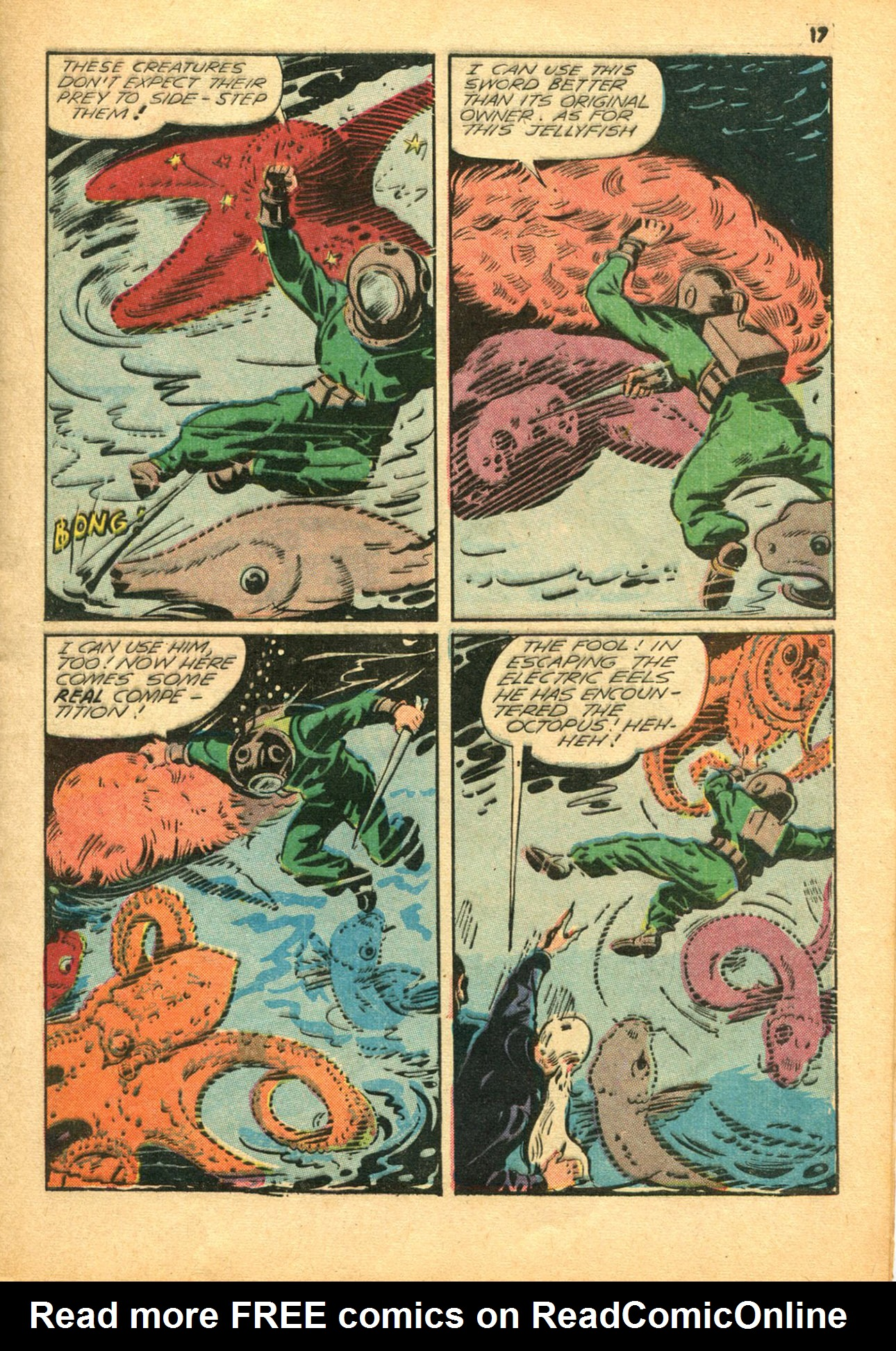 Read online Shadow Comics comic -  Issue #30 - 17