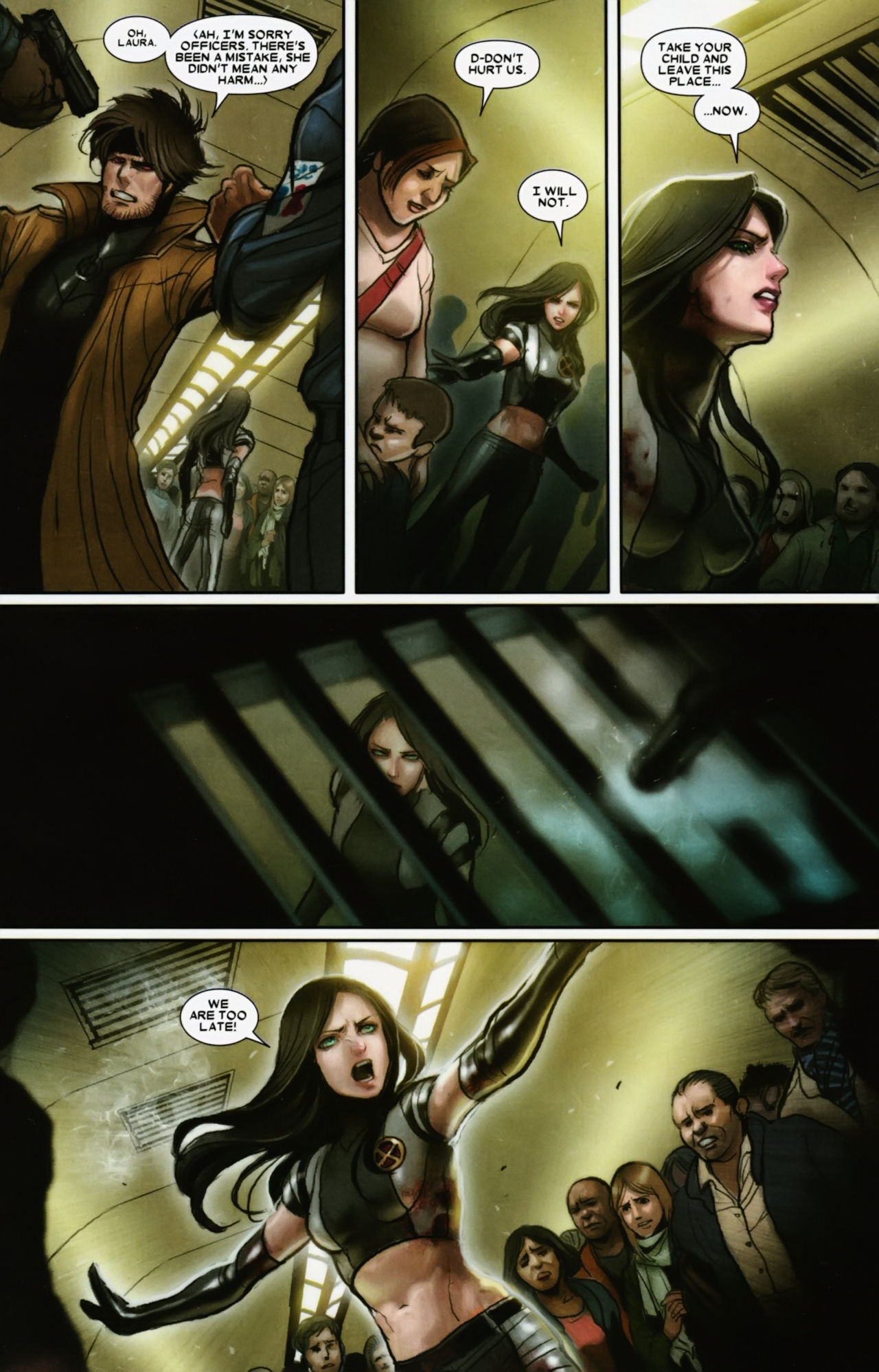 Read online X-23 (2010) comic -  Issue #12 - 9