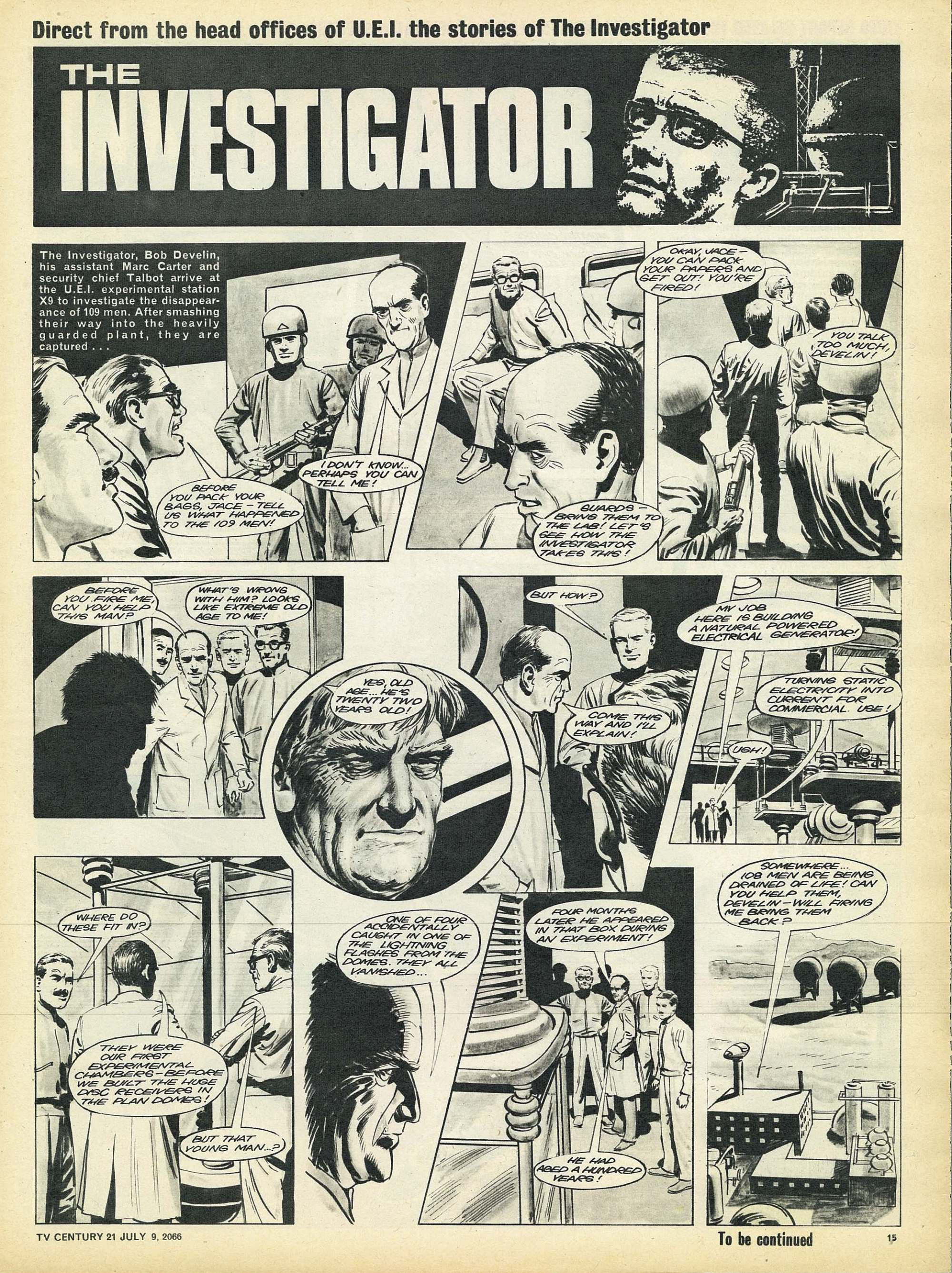 Read online TV Century 21 (TV 21) comic -  Issue #77 - 14
