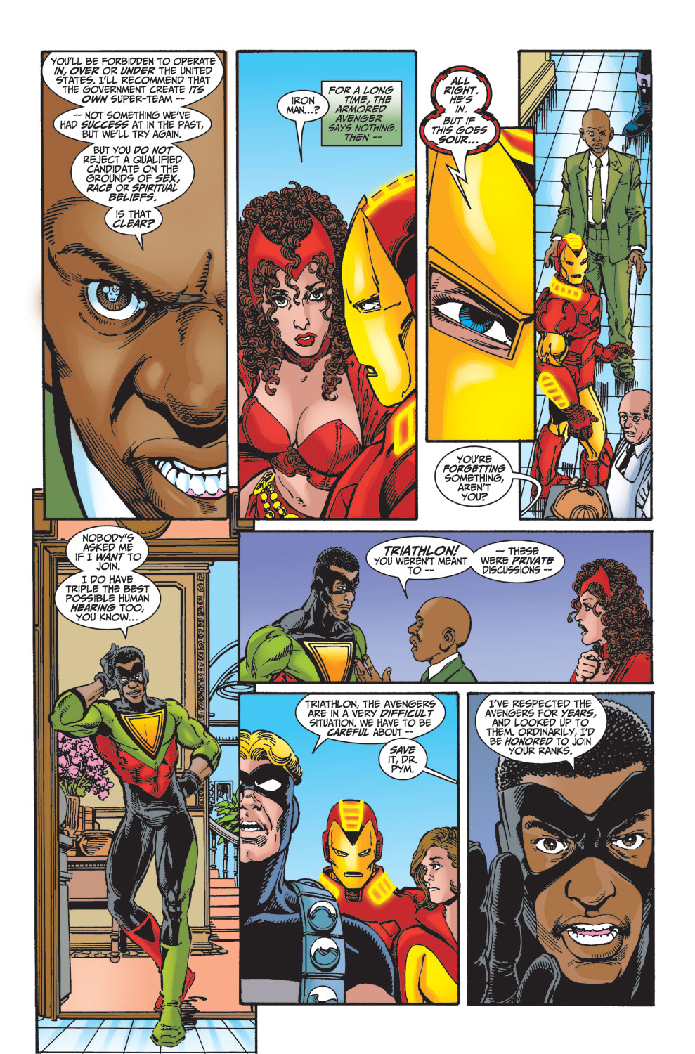 Read online Avengers (1998) comic -  Issue #27 - 19