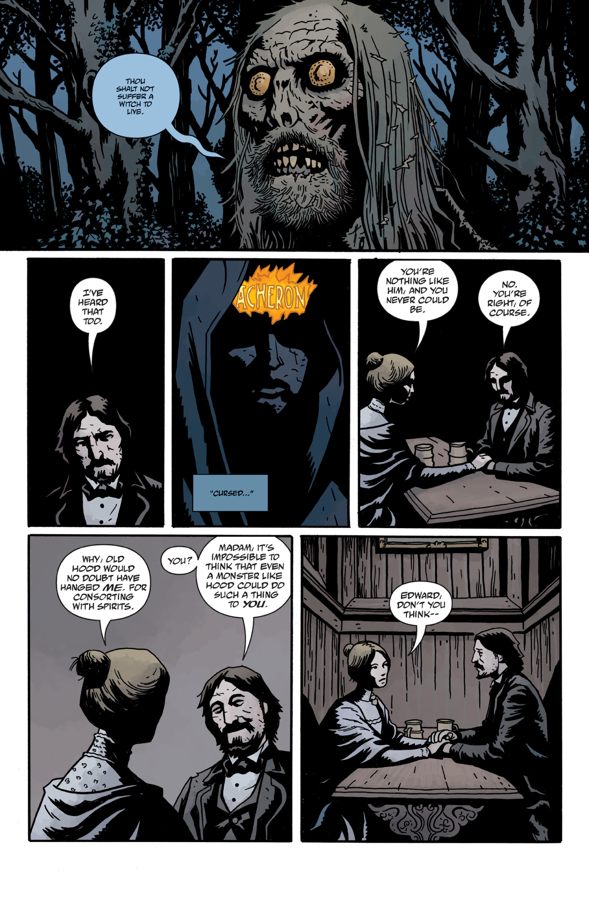 Read online Sir Edward Grey, Witchfinder: In the Service of Angels comic -  Issue # TPB - 95